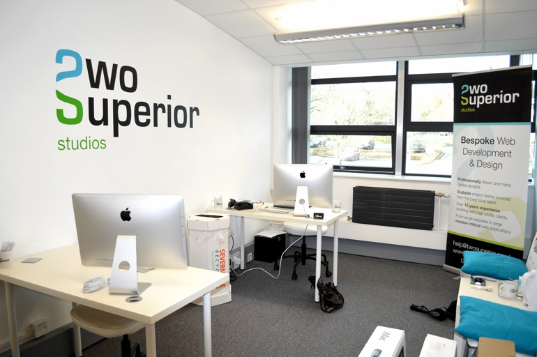 Two Superior Studios new office